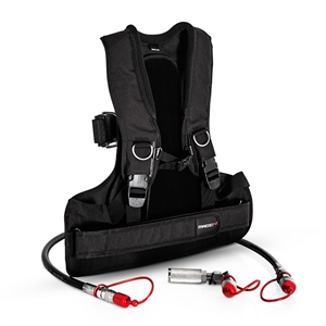 CO² Back Pack Komplett Set